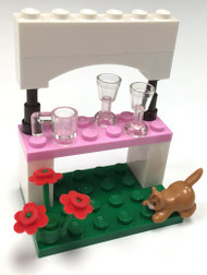 Lego Lemonade Stand Mini Model Parts & Instructions - Build Together Friends