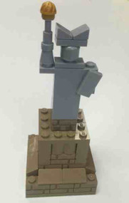 Lego Statue of Liberty Mini Build Parts & Instructions - Monuments Roadshow