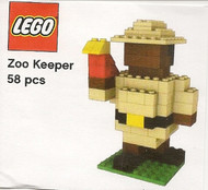LEGO Pickable Model - Zoo Keeper