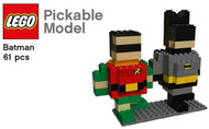 Lego® Pickable Model - Batman and Robin