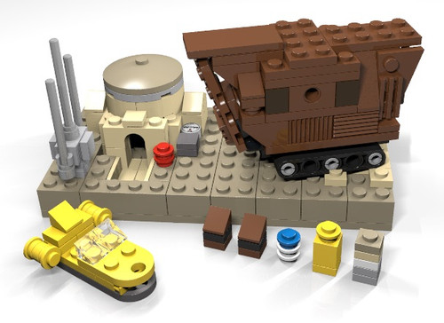 Reproduction Lego Star Wars䋢 Microscale Tatooine Parts ...