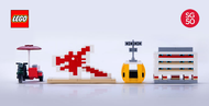 Lego䋢 SG50 Singapore Icons Mini Builds Parts & Instructions Kit