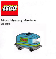 Constructibles® Micro Mystery Machine Mini Build LEGO® Parts & Instructions Kit