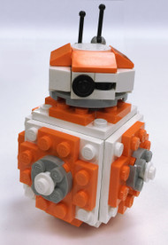 Constructibles Round Robot Mini Model LEGO® Parts & Instructions Kit