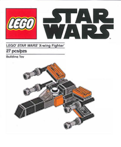 Constructibles Poe's X-Wing Mini Model LEGO® Parts & Instructions ...