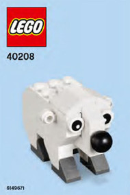 Constructibles Polar Bear LEGO® Parts & Instructions Kit - 40208