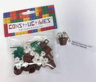 Constructibles® Girl Scout SWAPS Kit - 10 LEGO® Daisy SWAPS