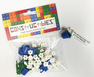 Constructibles® Girl Scout SWAPS Kit - 10 LEGO® Daisies (Blue)