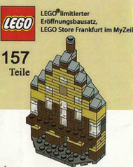 Constructibles® Frankfurt Micro Model LEGO® Parts & Instructions Kit