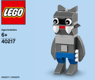 LEGO Werewolf Mini Build Parts & Instructions Kit