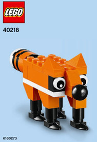 LEGO Fox Mini Build Parts & Instructions Kit