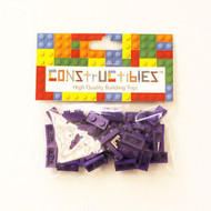 Constructibles® x50 Dark Purple 1x2 Plates 3023 - LEGO® Bulk Parts