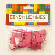 Constructibles® x25 Dark Pink 1x2 Bricks 3004 - LEGO® Bulk Parts