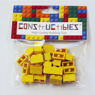Constructibles® x25 Yellow 1x2 Bricks 3004 - LEGO® Bulk Parts