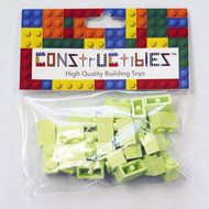 Constructibles® x25 Yellowish Green 1x2 Bricks 3004 - LEGO® Bulk Parts