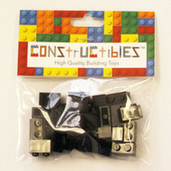 Constructibles® x25 Black 1x2 Bricks 3004 - LEGO® Bulk Parts