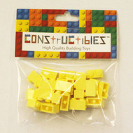 Constructibles® x25 Bright LIght Yellow 1x2 Bricks 3004 - LEGO® Bulk Parts