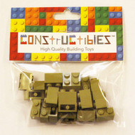 Constructibles® x25 Olive Green 1x2 Bricks 3004 - LEGO® Bulk Parts