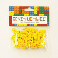 Constructibles® x50 Yellow 1x2 Plates 3023 - LEGO® Bulk Parts