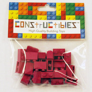Constructibles® x25 Magenta 1x2 Bricks 3004 - LEGO® Bulk Parts