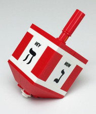 Red Hanukkah Dreidel - LEGO® Parts & Instructions Kit