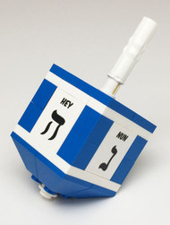 Blue Hanukkah Dreidel - LEGO® Parts & Instructions Kit
