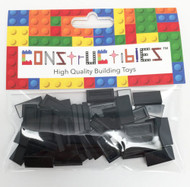 Constructibles® x50 Black 1x2 Tiles 3069 - LEGO® Bulk Parts