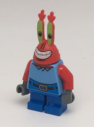 Constructibles SpongeBob LEGO® Mr. Krabs Minifigure 3833
