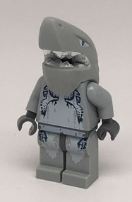 Constructibles LEGO¨ Shark Warrior Minifigure Atlantis 8078
