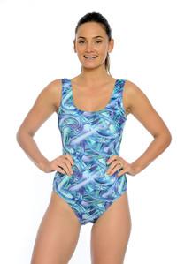 Hazy Daze Chlorine Resistant One Piece Swimsuit.