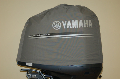 Yamaha deluxe outboard v6 f200 and f225 motor cover mar for Yamaha boat motor covers