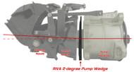 Sea Doo RIVA RXP RXT GTX RXP-X RXT-X 2 degree Pump Wedge