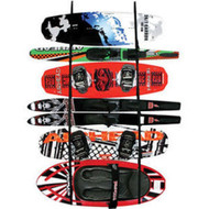 Airhead Ladder Rack Wakeboard Kayak Water Ski Paddle Wall Mount LR-1