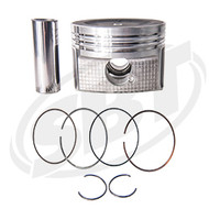 Yamaha Piston & Ring Set 1.8L N /A FX Cruiser HO /FX HO /VXR /VXS 6BH-11631-00-B0 2009 2010 2011 2012 (47-414-0)