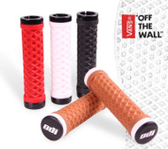 ODI VANS Lock Grips No FLANGE 130mm GUM RED BLACK WHITE BMX PWC ATV