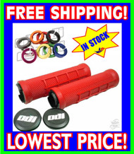 ODI RUFFIAN MX Lock-On Grips RED 130mm PWC SeaDoo Kawasaki Yamaha