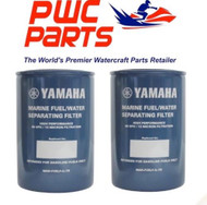 YAMAHA OEM Outboard 2-PACK Fuel/Water Separating Filter 10-Micrn MAR-FUELF-IL-TR