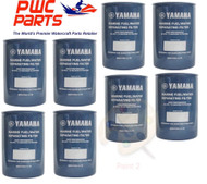 YAMAHA OEM Outboard 8-PACK Fuel/Water Separating Filter 10-Micrn MAR-FUELF-IL-TR