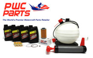 SeaDoo BRP Oil Change Kit RXP-X RXT GTX GTI 4-TEC Spark Plug DCPR8E Filter Pump
