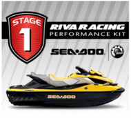 SEADOO 2009 RXT iS 255 RIVA Stage 1 Kit 70+ MPH Power Filter w/ MaptunerX Bundle