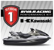 KAWASAKI 2009-2010 ULTRA 260X RIVA Stage 1 Kit 71+ MPH w/ Power Filter Kit +