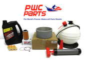 SeaDoo BRP Oil Change Kit RXP-X RXT-X 4-TEC Filter Wear Ring 267000372 Pump Extractor