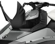 SeaDoo Spark Front Deflector Lid Kit Black 2-Up 3-Up BRP OEM 295100553