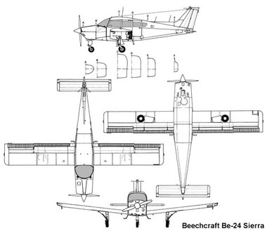 Beechcraft Sundowner Sierra wiring diagram electrical