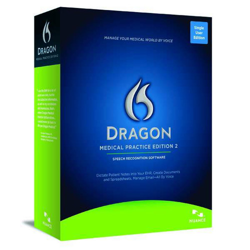 Dragon Medical Practice Edition 2 Box Image