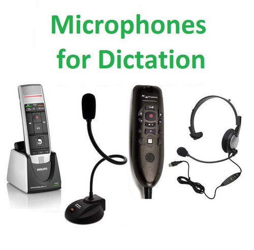 Microphones for Dictation Image