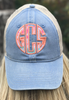 Monogrammed Comfort Colors Trucker Hat | Denim