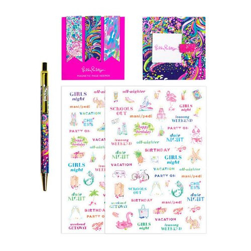 Lilly Pulitzer Agenda Bonus Pack | Beach and Bae