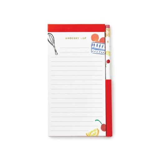 Kate Spade Grocery List Notepdad