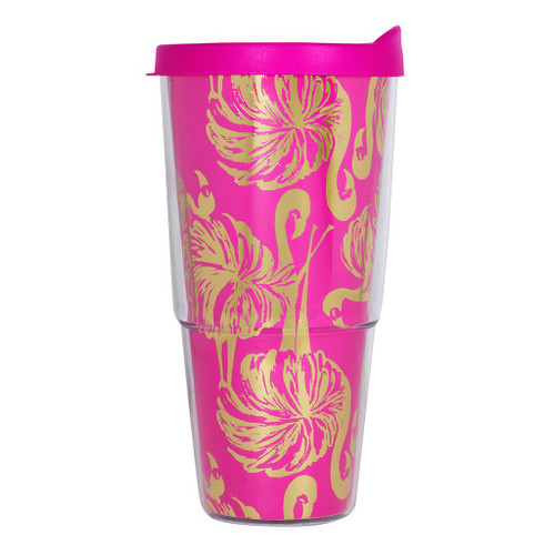 Lilly Pulitzer Insulated Tumbler ~  Gimme Some Leg
